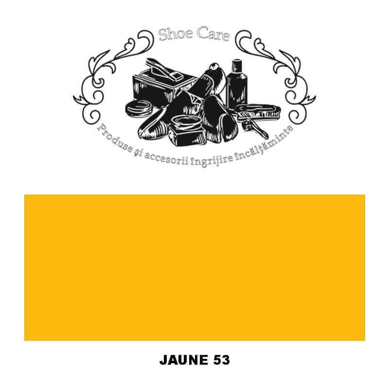 jaune 53 Shoecare.ro - Cele mai bune produse si accesorii pentru ingrijirea pantofilor. Alege sa redai stralucirea papucilor tai