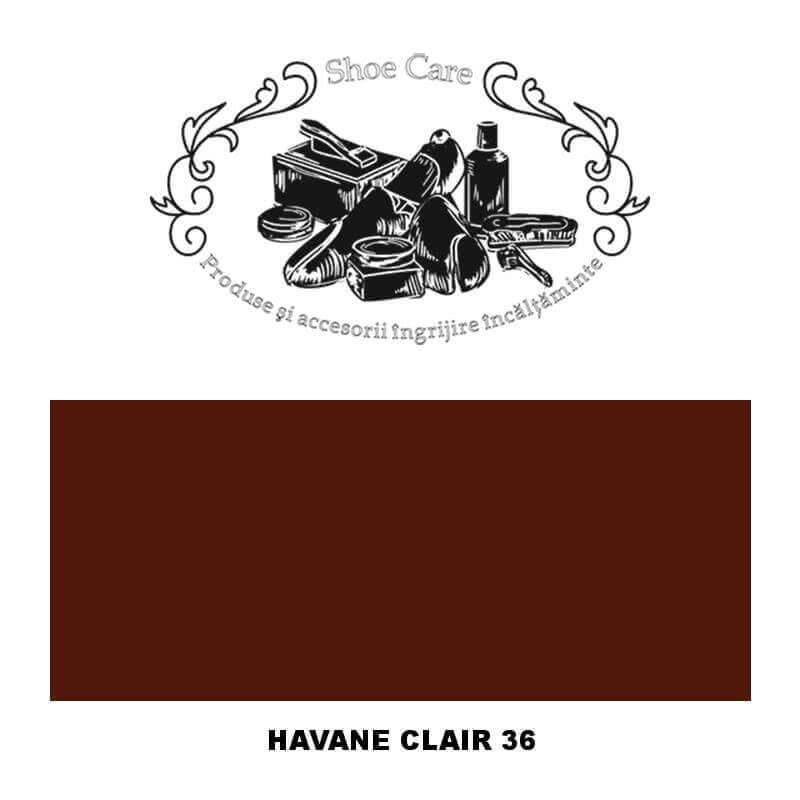 havane clair 36 Shoecare.ro - Cele mai bune produse si accesorii pentru ingrijirea pantofilor. Alege sa redai stralucirea papuci