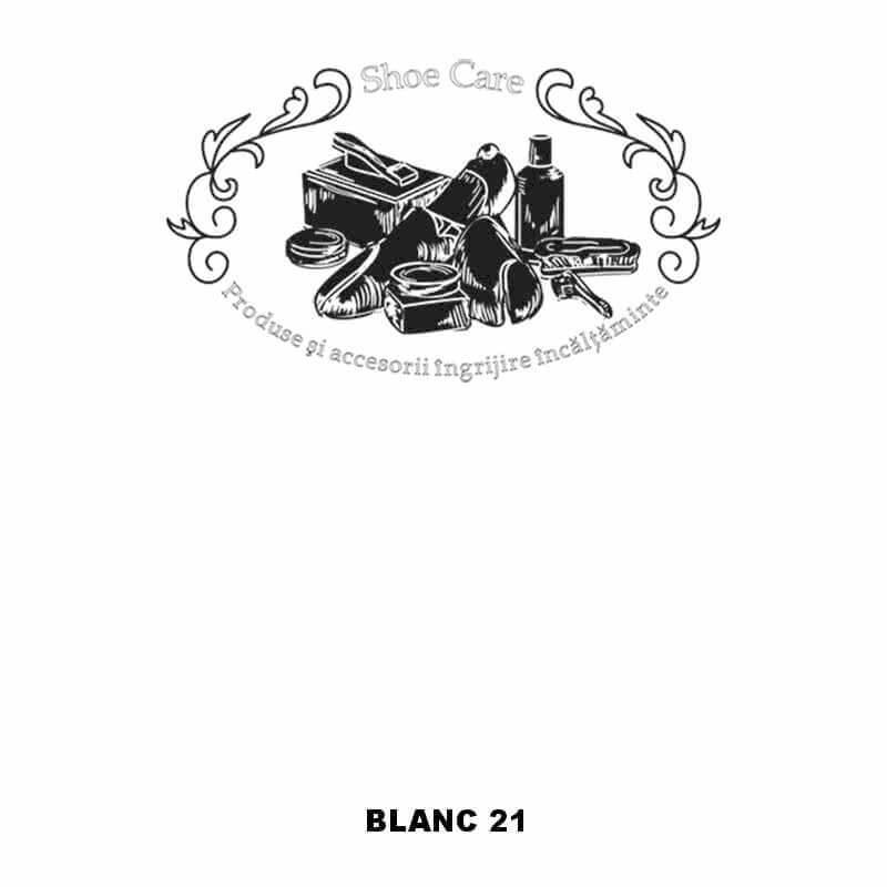 blanc 21 Shoecare.ro - Cele mai bune produse si accesorii pentru ingrijirea pantofilor. Alege sa redai stralucirea papucilor tai