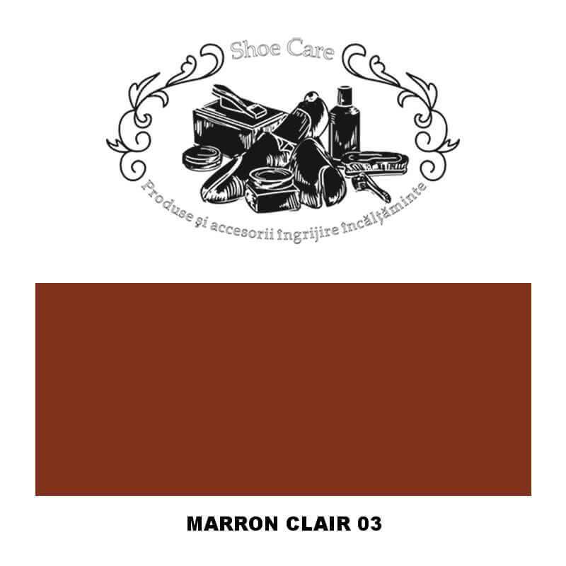 marron clair 03 Shoecare.ro - Cele mai bune produse si accesorii pentru ingrijirea pantofilor. Alege sa redai stralucirea papuci