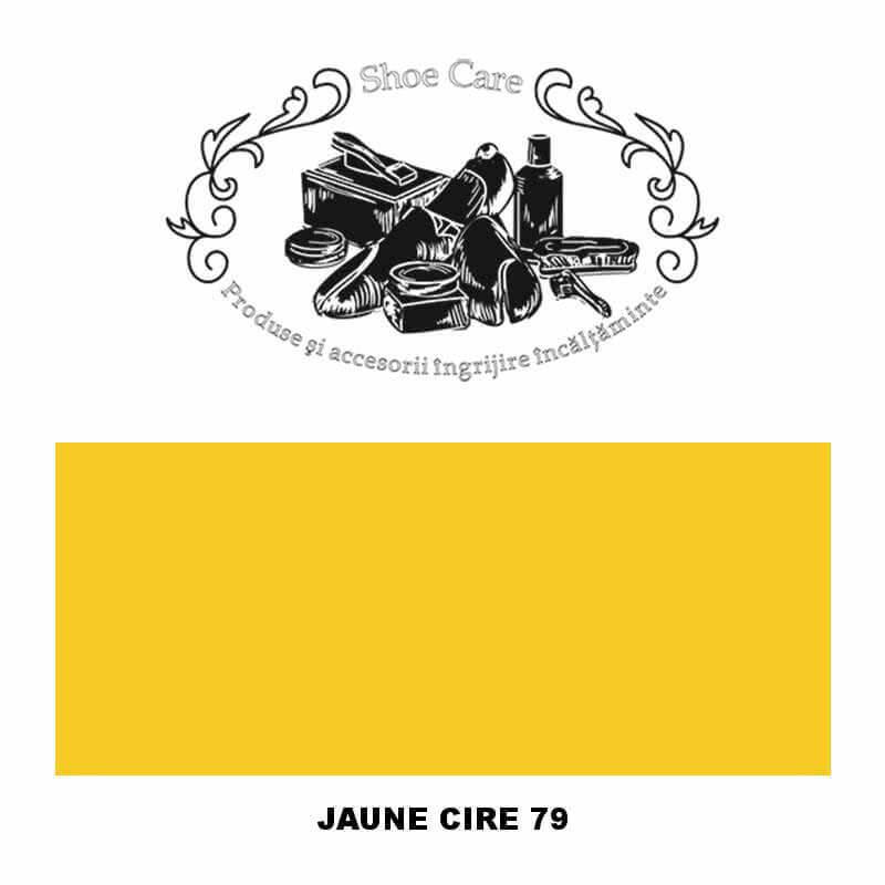jaune cire 79 Shoecare.ro - Cele mai bune produse si accesorii pentru ingrijirea pantofilor. Alege sa redai stralucirea papucilo