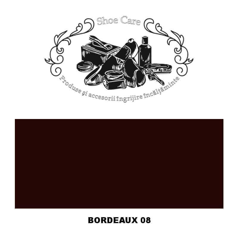 bordeaux 08 Shoecare.ro - Cele mai bune produse si accesorii pentru ingrijirea pantofilor. Alege sa redai stralucirea papucilor