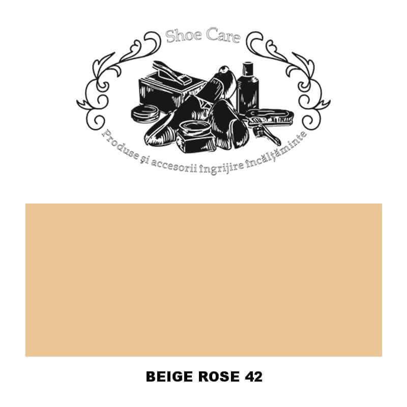 beige rose 42 Shoecare.ro - Cele mai bune produse si accesorii pentru ingrijirea pantofilor. Alege sa redai stralucirea papucilo
