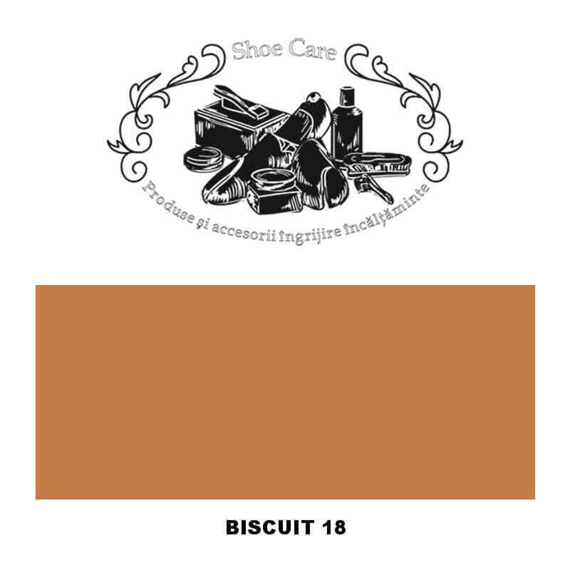 biscuit 18 Shoecare.ro - Cele mai bune produse si accesorii pentru ingrijirea pantofilor. Alege sa redai stralucirea papucilor t