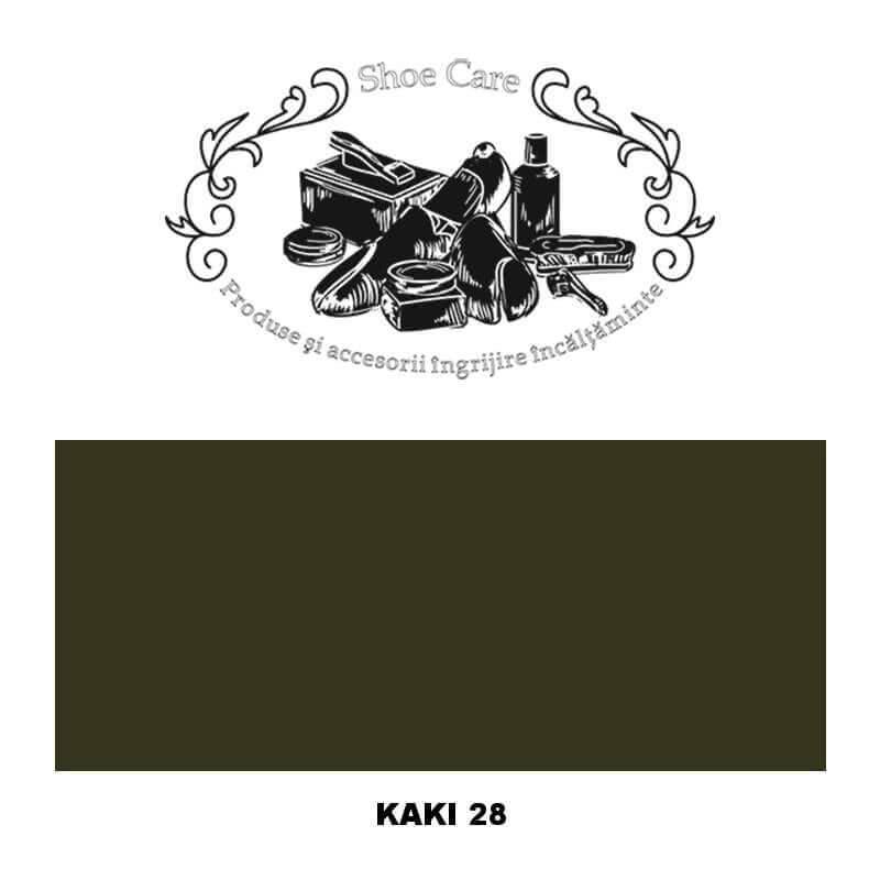 kaki 28 Shoecare.ro - Cele mai bune produse si accesorii pentru ingrijirea pantofilor. Alege sa redai stralucirea papucilor tai