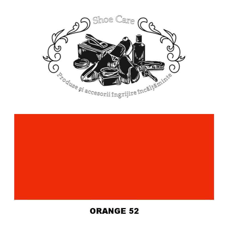 orange 52 Shoecare.ro - Cele mai bune produse si accesorii pentru ingrijirea pantofilor. Alege sa redai stralucirea papucilor ta
