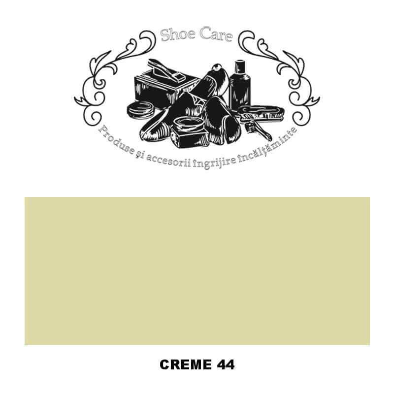 creme 44 Shoecare.ro - Cele mai bune produse si accesorii pentru ingrijirea pantofilor. Alege sa redai stralucirea papucilor tai