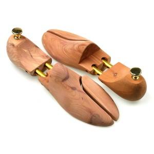 Sanuri din lemn de cedru cu arc dublu  pentru  pantofi - fata