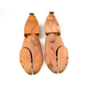 Sanuri din lemn de cedru cu arc dublu  pentru  pantofi  - FATA SUS