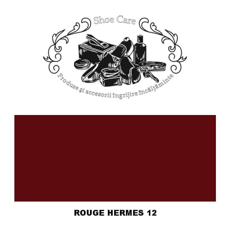 rouge hermes 12 Shoecare.ro - Cele mai bune produse si accesorii pentru ingrijirea pantofilor. Alege sa redai stralucirea papuci